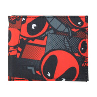 Marvel Deadpool Kawaii Bi-Fold Wallet