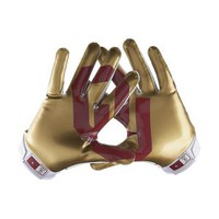 Nike Store. Nike Vapor Jet 2.0 (Oklahoma) Men's Football Gloves