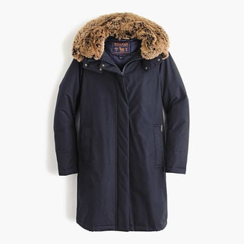 J.Crew Womens Woolrich John Rich & Bros. Bow Bridge Coat