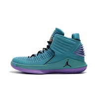 Best Deal Online Nike Air Jordan 32 XXXII Purple Blue Men Basketball Shoes Sport Sneaker