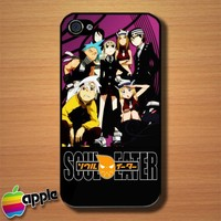Soul Eater Japanese Anime Custom iPhone 4 or 4S Case Cover