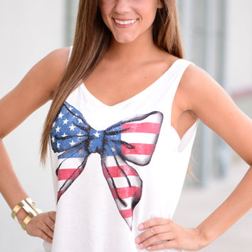 American Bow Tank, Ivory