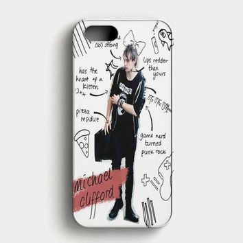Michael Clifford 5 Second iPhone SE Case