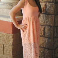 LITTLE MISS LACEY MAXI DRESS