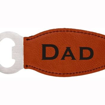 Dad Bottle Opener Refrigerator Magnet - Free Shipping