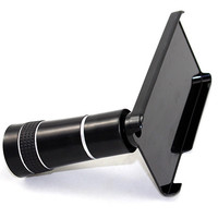 10X Mobile phone Long Focus Telescope Zoom Lens/lenses For Iphone 5 5S With Camera Lens Tripod Stand Holder Case