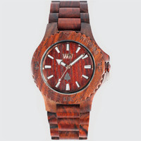 Wewood Date Watch Brown One Size For Men 19963740001
