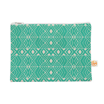 "Pom Graphic Design ""Going Native"" Teal Everything Bag"