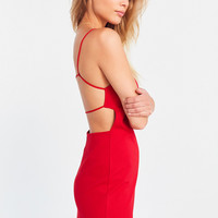 Silence + Noise Strappy Empire Waist Mini Dress | Urban Outfitters