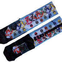 Power Rangers Custom Nike Elite Socks