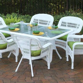 Tortuga Outdoor Portside 7Pc Dining Set