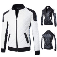 Arrival Motorcycle Zipper Leather Jacket