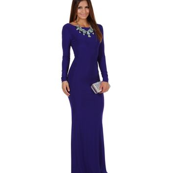 Chanelle- Royal Prom Dress