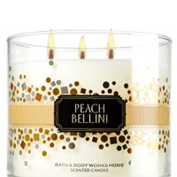 Peach Bellini 14.5 oz. 3-Wick Candle   - Slatkin & Co. - Bath & Body Works