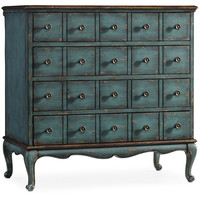 "Gowen 34"" Chest, Blue, Chest of Drawers"