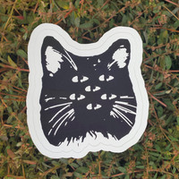 Hexacat Vinyl Decal and Bumper Sticker