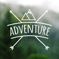 DECAL [Adventure] Vinyl Decal, Car Window Decal, Laptop Decal, Laptop Sticker, Water Bottle Decal, Phone Decal, Phone Sticker, Car Decal