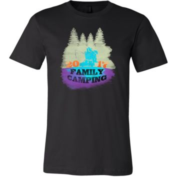Cool Family Camping Campers, Travel, Vacation Stamped Shirt