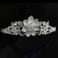 Bridalvenus Bridal Crown and Tiara for Women on Wedding, Party and Evening