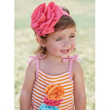 Mud Pie FLOWER HEADBAND