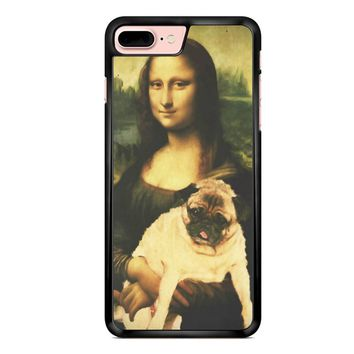 Mona Lisa Pug 1 iPhone 7 Plus Case