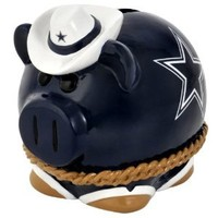 NFL Dallas Cowboys Small Thematic Piggy Bank