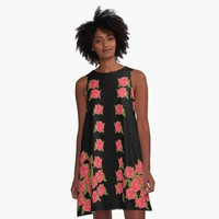 'Roses Creeping' A-Line Dress by Greenbaby