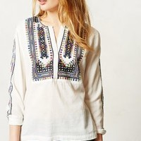 Daystitch Peasant Blouse by Anthropologie Assorted