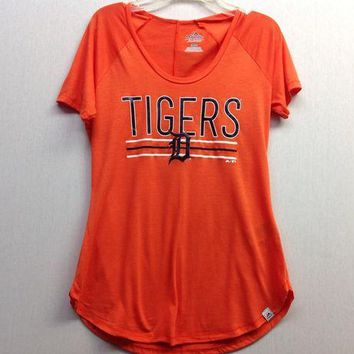 ESBON MLB Detroit Tigers Women's Tough Decision T-Shirt