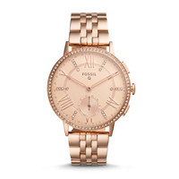 Hybrid Smartwatch - Q Gazer Rose Gold-Tone Stainless Steel