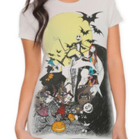 The Nightmare Before Christmas Group Girls T-Shirt