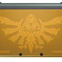 Nintendo New 3DS XL - Hyrule Gold Edition - GameStop Exclusive