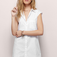 Loosen Up Shirt Dress
