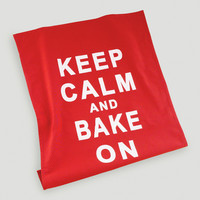 Keep Calm & Bake On Kitchen Towels, Set of 2 - World Market