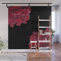 Roses are Red Wall Mural by drawingsbylam