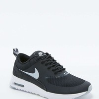 Nike Air Max Thea Silver and White Trainers - Urban Outfitters