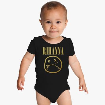 Nirvana By Rihanna Baby Onesuits