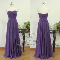 Sweetheart Chiffon bridesmaid dresses purple bridesmaid dresses, long beach bridesmaid party dress wedding party dress prom dresses
