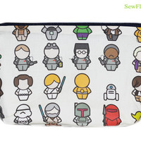 NEW Makeup Bag | Zipper Bag |Cosmetic| Star Wars | Star Trek | Ghostbusters | Peter Pan | Shawn of the Dead | Clockwork Orange | Willy Wonka