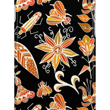 Girly Vintage Tribal Floral Pattern by sale