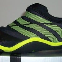 Adidas adipure Trainer M Men's Soccer Shoes Black/Neon Green Various Sizes