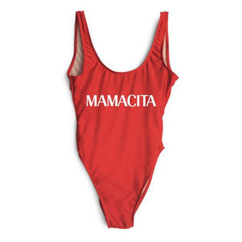 ''Mamacita'' One piece Swimsuit