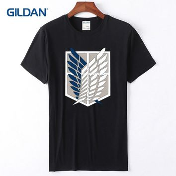 Cool Attack on Titan T-Shirt In Bulk 2018  White Tee Shirt Online No Wadding Black Mens Tshirts AT_90_11