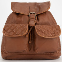 T-Shirt & Jeans Ellie Quilted Backpack Cognac One Size For Women 26703440901