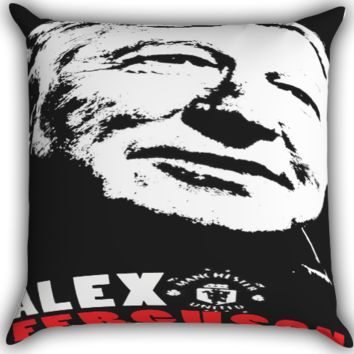 The Greatest Sir Alex Ferguson Retired A0025 Zippered Pillows  Covers 16x16, 18x18, 20x20 Inches