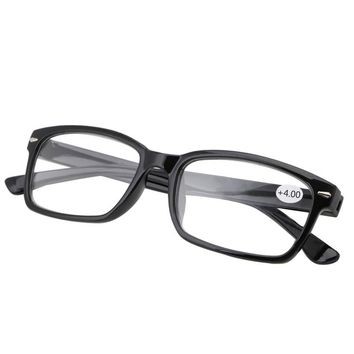 1PC Retro Reading Glasses Resin Eyewear Plastic Frame Eyeglasses 1.0  4.0