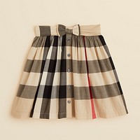 Burberry Girls' Salima Belted Skirt - Sizes 4-14