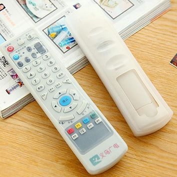 High Quality Clear TV Air Condition Remote Controller Silicone Protector Case Cover Skin Waterproof Pouch Bags