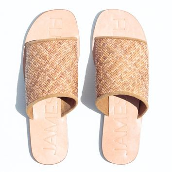 Woven Off Duty Sandals