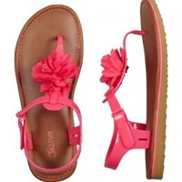 Jelly Flower T-strap Sandals | Girls Sandals & Wedges Shoes | Shop Justice